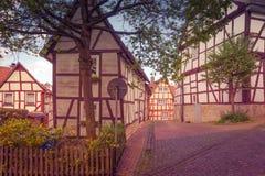 Camere nel vecchio stile tedesco Fotografia Stock Libera da Diritti