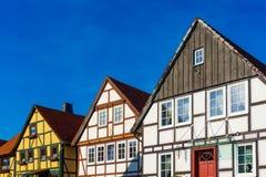 Camere nel vecchio stile tedesco Fotografia Stock