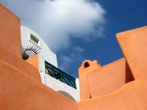 Camere in Santorini Immagine Stock Libera da Diritti