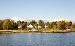 Camere su un'isola Fotografia Stock