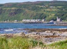 Camere sull'isola di Rathlin, Antrim, Irlanda del Nord Immagini Stock