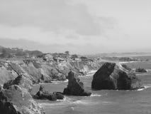 Camere sulle rocce Immagini Stock
