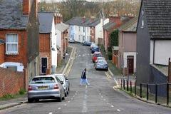 Camere a terrazze in Inghilterra Fotografia Stock Libera da Diritti