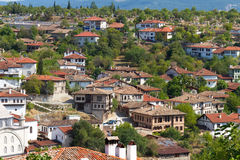 Camere tradizionali dell'ottomano Fotografie Stock