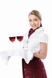Cameriera di bar Fotografie Stock Libere da Diritti