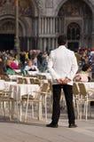 Cameriere Fotografia Stock Libera da Diritti