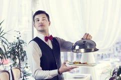 cameriere Fotografie Stock