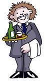 Cameriere Fotografia Stock