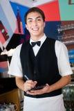 Cameriere che cattura ordine Immagine Stock