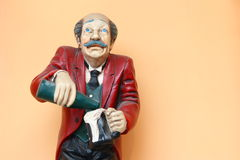 Cameriere della statua Immagine Stock Libera da Diritti