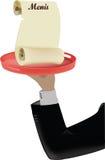 Cameriere di Braccio Fotografie Stock