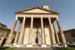 Camerino, church of San Venanzio Stock Images