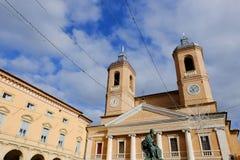 Camerino i Italien Arkivfoto