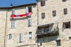Camerino (mars, Italie) Photographie stock