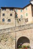 Camerino (marzos, Italia) Foto de archivo