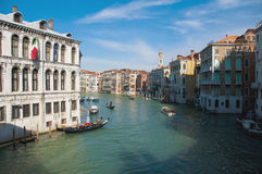 Camerlenghi Palace located at Venice, Italy Stock Images