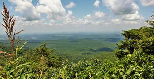Cameron Bluff Overlook at Mount Magazine. State Park, Paris, Arkansas. Mount Magazine State Park is on the state`s tallest mountain, the 2,753-foot Mount royalty free stock photo