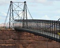 Cameron, de Hangbrug van Arizona Royalty-vrije Stock Afbeelding
