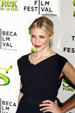 Cameron Diaz. NEW YORK - APRIL 21: Cameron Diaz attends the Shrek Forever After premiere during the 2010 Tribeca Film Festival at the Ziegfeld Theatre on April Stock Photography