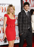 Cameron Diaz and Ashton Kutcher Royalty Free Stock Photography