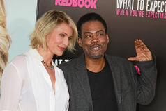 Cameron Diaz and Chris Rock Stock Photography