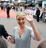 Cameron Diaz At Knight And Day Premiere Stock Photos