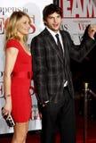 Cameron Diaz Kutcher i Ashton Fotografia Royalty Free