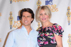 Cameron Diaz,Tom Cruise Royalty Free Stock Photos