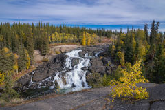 Cameron Falls, Northwest Territories Stock Photography