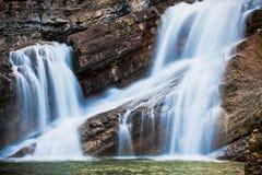 Cameron Falls of Waterton National Park, Canada Royalty Free Stock Photos