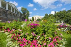 Cameron galeria w Catherine parku, Tsarskoe Selo, St Petersburg, Rosja obrazy stock