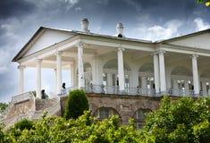 Cameron Gallery. Catherine Park. Pushkin (Tsarskoye Selo). Petersburg Stock Photos