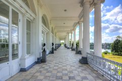 Cameron Gallery in Catherine park, Tsarskoe Selo, Pushkin, Saint Petersburg, Russia royalty free stock photography