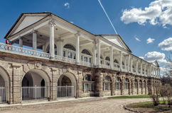 The Cameron Gallery in the Catherine Park in Tsarskoye Selo. Tsarskoye Selo Pushkin, Russia. 2017, May 14. The Cameron Gallery in the Catherine Park Stock Photo