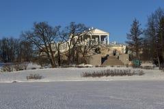 Cameron Gallery, Catherine Park, Tsarskoye Selo, St. Petersburg, Russia Stock Photo