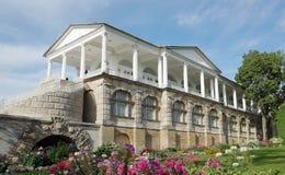 Cameron Gallery i Catherine parkerar i staden av Pushkin Fotografering för Bildbyråer