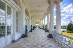 Cameron Gallery nel parco di Catherine, Tsarskoe Selo, Pushkin, San Pietroburgo, Russia fotografia stock libera da diritti