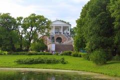 Cameron Gallery Tsarskoye Selo, Heilige Petersburg Royalty-vrije Stock Fotografie