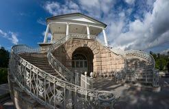 Cameron gallery in Tsarskoye Selo Stock Photos
