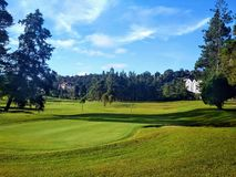Cameron Highlands Golf Club fotografia stock