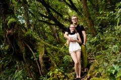 Cameron Highlands Gunung Jasar que trekking imagem de stock