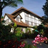 Cameron Highlands Smokehouse Hotel ed il ristorante Fotografia Stock Libera da Diritti