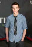 Cameron Monaghan. LOS ANGELES - OCT 20: Cameron Monaghan arriving at the In Time Los Angeles Premiere at the Los Angeles on October 20, 2011 in Westwood, CA royalty free stock photo