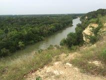 Cameron Park. Waco Texas running trail Stock Photography