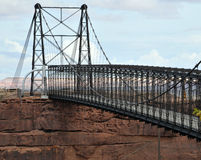 Cameron, pont suspendu de l'Arizona image libre de droits