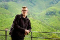 Cameron średniogórzy Boh herbaciana plantacja Zdjęcie Royalty Free