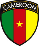 Cameroon flag Royalty Free Stock Images