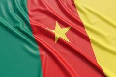 Free Cameroon Flag Stock Image - 90792211