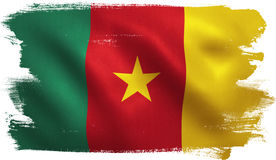 Cameroon Flag Stock Photography
