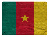 Cameroon flag Royalty Free Stock Photography